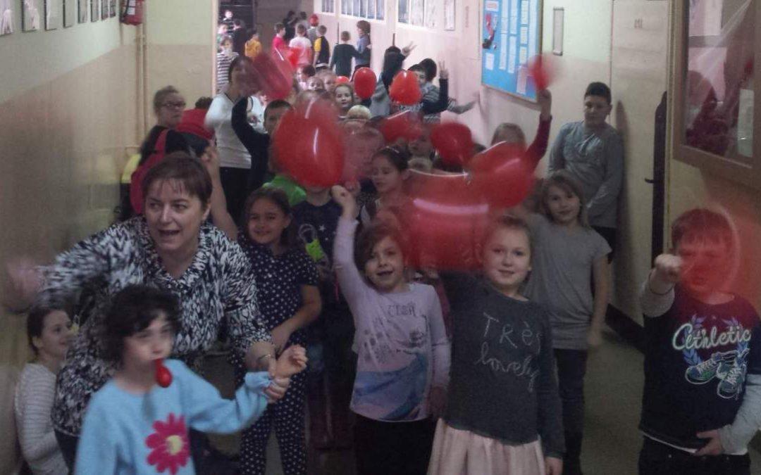 Walentynki w Szkole Podstawowej 2016