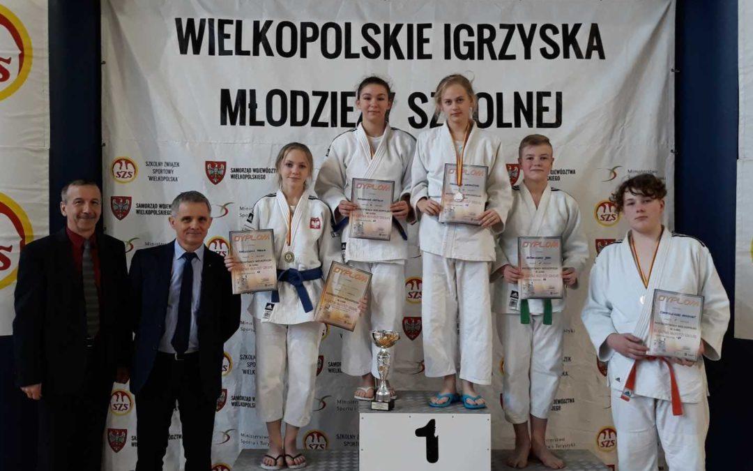 Wielkopolskie Igrzyska Młodzieży Szkolnej Judo w Poznaniu.