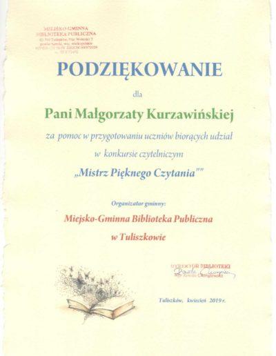 mistrz pieknego czytania mk