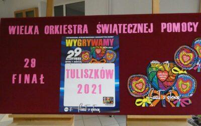 29. Finał Wielkiej Orkiestry Świątecznej Pomocy wTuliszkowie