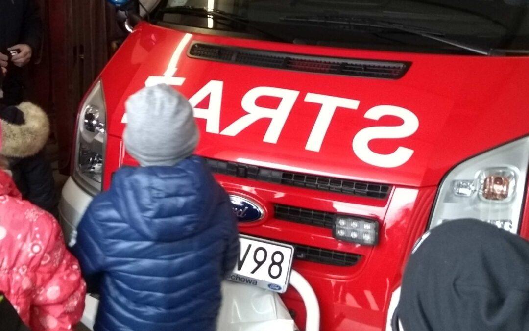 Wycieczka do Ochotniczej Straży Pożarnej