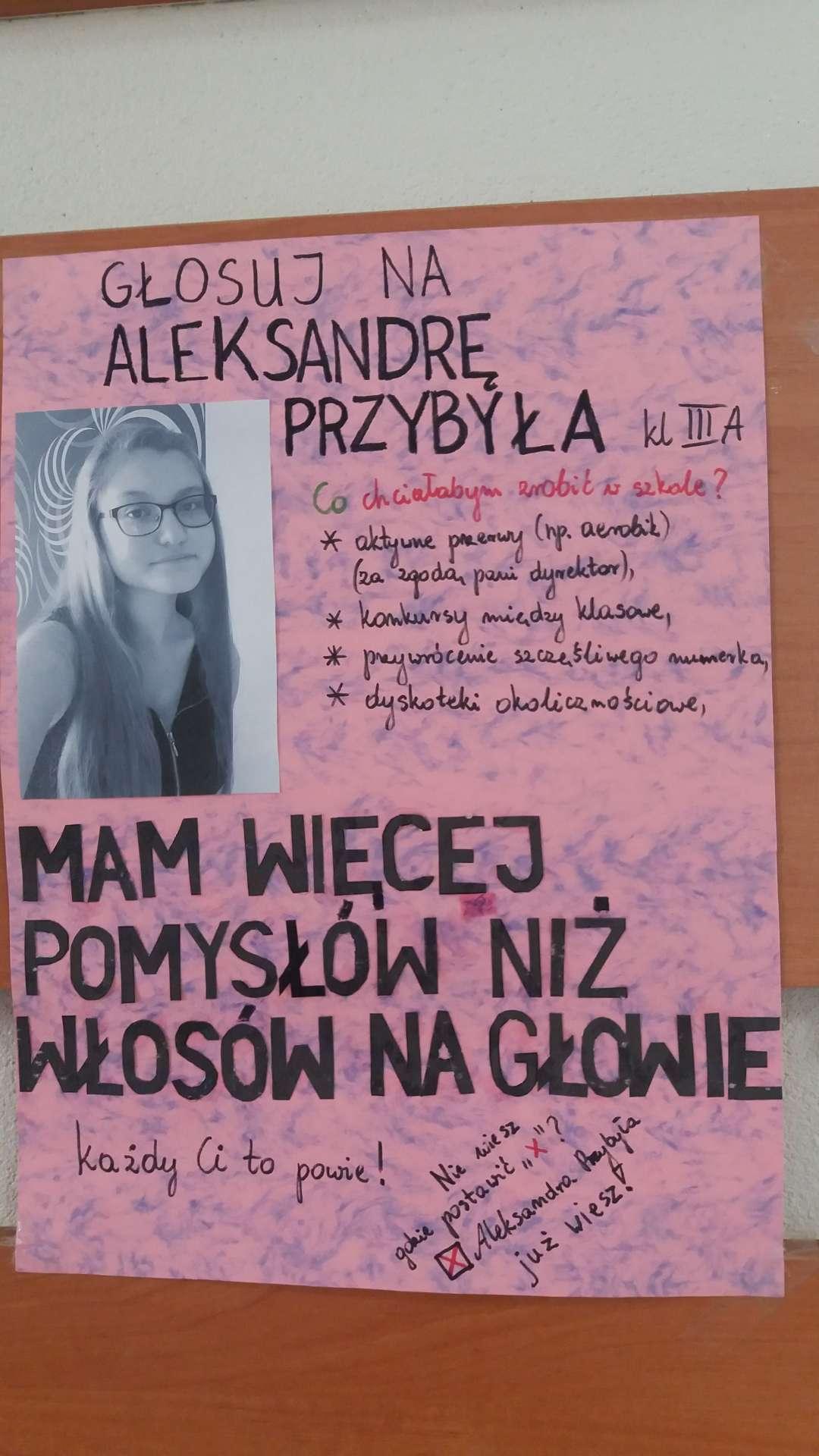 Wybory Szkoła Podstawowa W Tuliszkowie